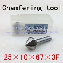 Buy Head: 25mm New 90 angle Super-hard high-speed steel bevel knivess chamfering tool Three Flute Straight 25*10*67*3F for $9.97 in AliExpress store