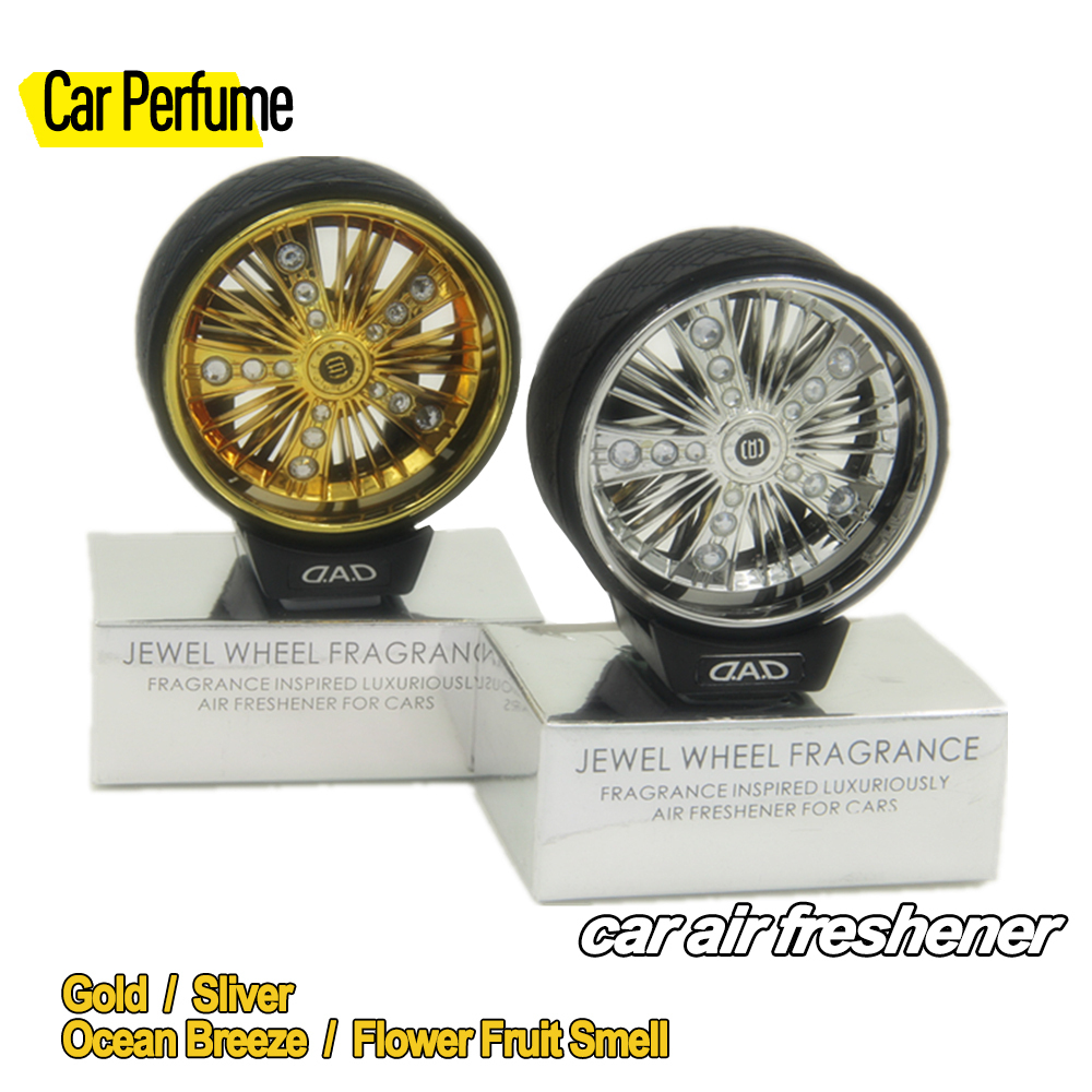 Car styling perfume and fragrances, wheel shape car decoration air Freshener, novelty items and unique Christmas Gifts wholesale(China (Mainland))