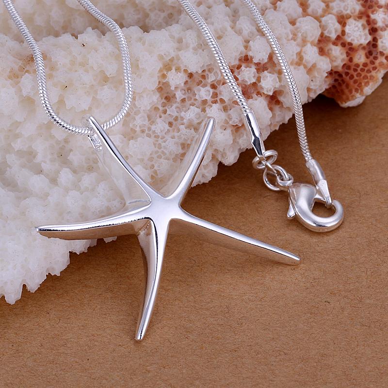 Серебряная мода ювелирные изделия Серебряные звезды