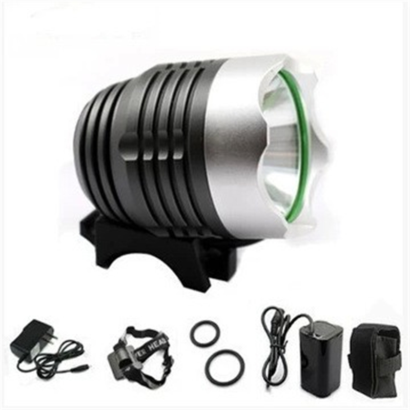 2016 New CREE XM-L 5x T6 Bicycle Light Headlight 1600 Lumen LED Bike Light Lamp Headlamp + 2.8V Charger + 6400mAh Battery Pack(China (Mainland))