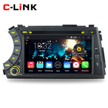"Quad Core 1.6GHz 7"" 1024*600 Android 4.4 Car PC For SsangYong Kyron Actyon 2006-2012 Video Player GPS Radio RDS WIFI 3G BT OBD2(China (Mainland))"