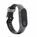 Replacement Bands With Chrome Watch Clasp, for Xiaomi Band 2, Accessory Band to All Sizes