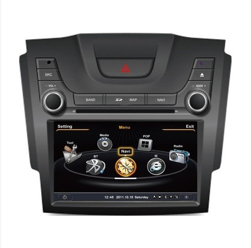 Dual-core 8'' 1080P HD Car DVD Player GPS Navigation for 2012 Chevrolet S10 TrailBlazer Holden Colorado with Free Map(China (Mainland))