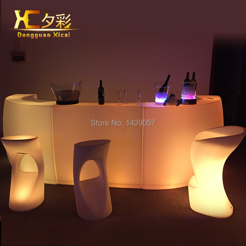 bar stool Picture More Detailed Picture about Plastic  : Plastic Glowing LED Bar Stool Home Garden Light Up Club Furniture Luminous Cocktail Chair For Pub from www.aliexpress.com size 800 x 800 jpeg 356kB