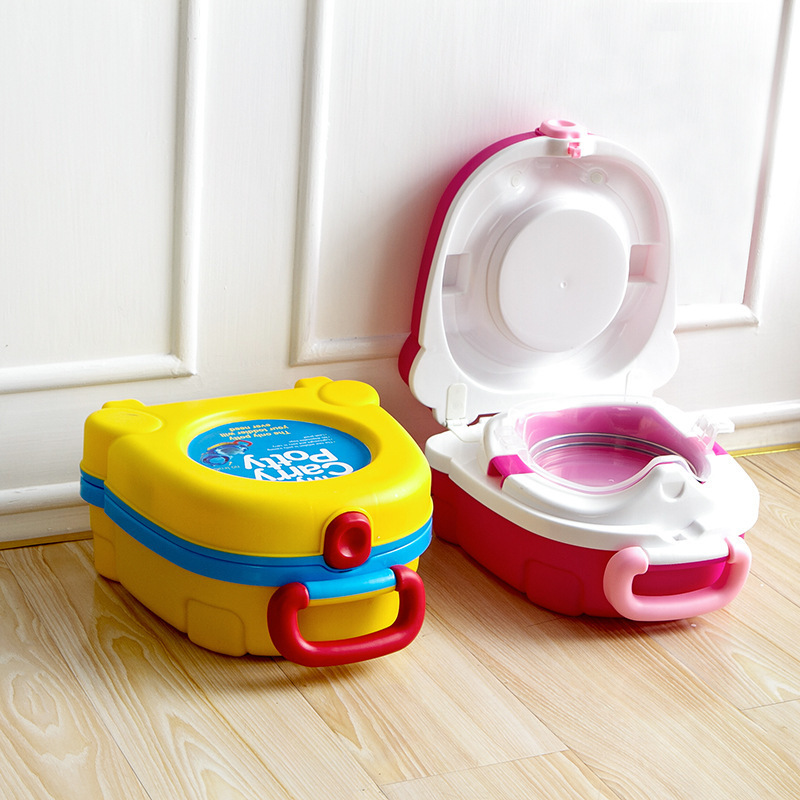 Baby Travel Small Portable Toilet Infant Children Carry Potty Urinals For Kids In Potties From