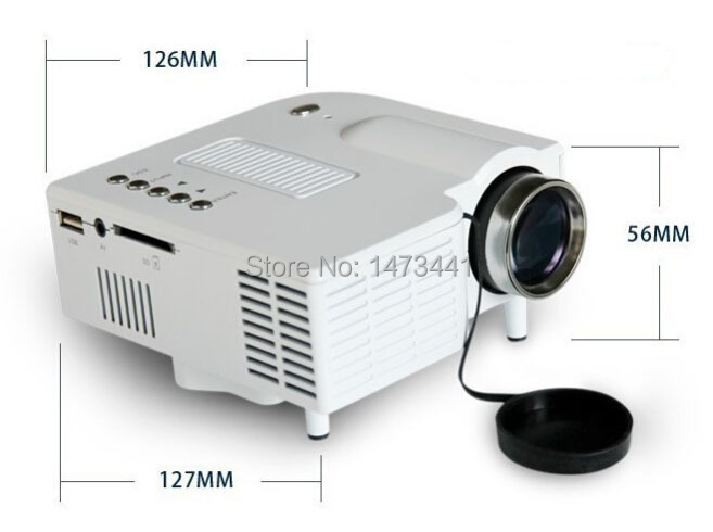 UC28 Mini Led Projector HDMI Home Theater Projector For Video Games TV Movie Support HDMI VGA AV Portable<br><br>Aliexpress