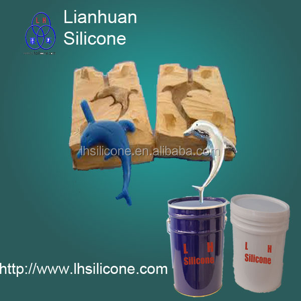 Liquid RTV silicone forming for resin product(China (Mainland))