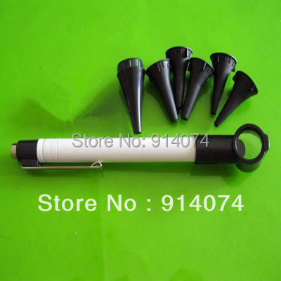 Free Shipping Pen style Earcare Professional Otoscope Diagnostic set
