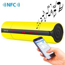 Multifunctional Portable KR8800 Matte Wireless Bluetooth V3.0 NFC Speaker with LED Screen FM Radio for Smartphones MP3(China (Mainland))