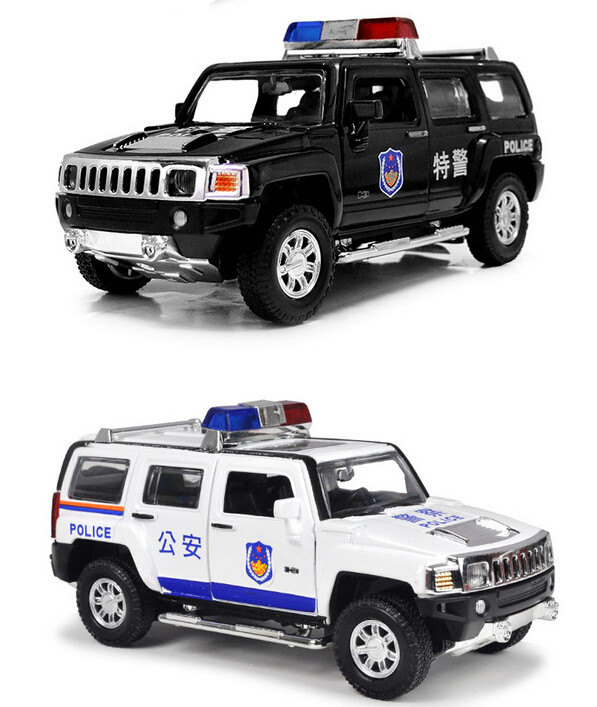 Police series Vehicle bus 1:32 alloy Diecast pull back music flashing model car Electric Simulation kids toys(beibei026)(China (Mainland))