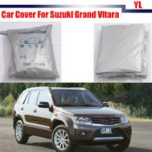 Car Cover Snow Rain Sun Resistant Anti UV Protector Cover Sun Shade Waterproof For Suzuki Grand Vitara(China (Mainland))