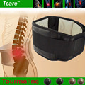 Tcare Adjustable Tourmaline Self heating Magnetic Therapy Waist Support Belt Lumbar Back Waist Brace Double Band