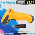 JP A3 JEPOD Wireless Barcode Scanner Wireless Barcode Reader Wireless usb laser Bar code Scanner Scanning