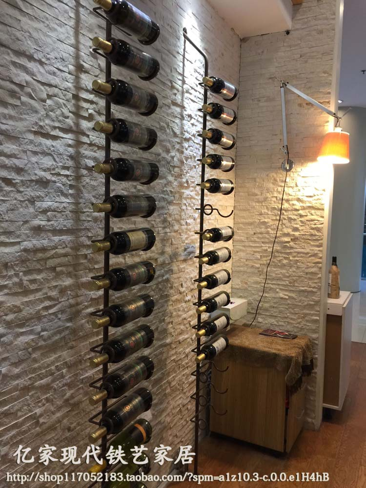 European American Wood Wine Cabinets Showcase Modern Wall