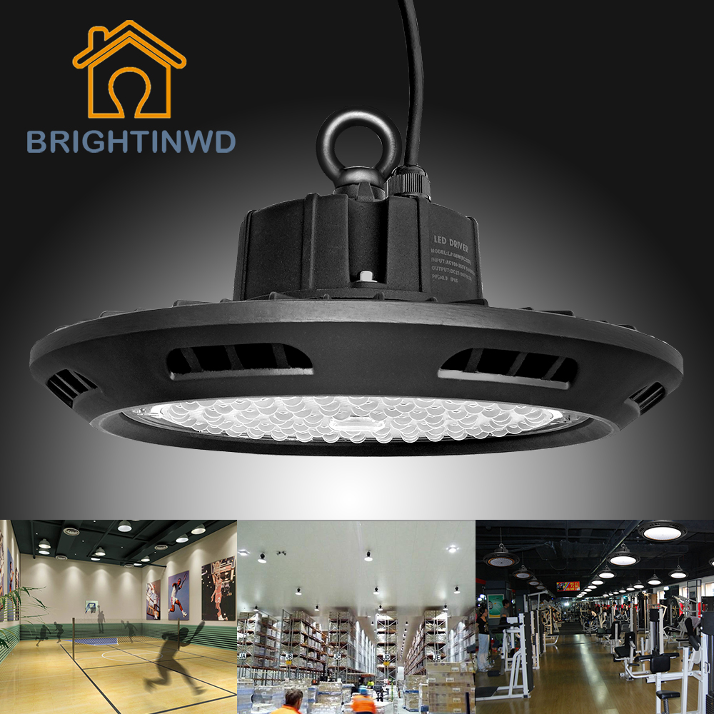 BRIGHTINWD UFO Led High Bay 100W 150W 200W SMD3030 High Power Led Reflector Floodlight For Factory/Warehouse/Works Machine Lamp(China (Mainland))