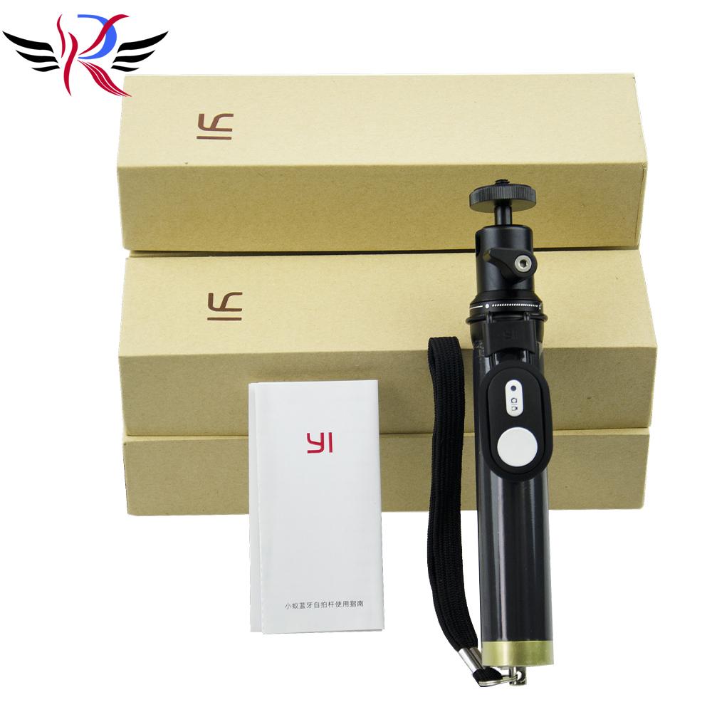 Original Xiaomi yi Action Camera Bluetooth Monopod Extendable Remote Control Selfie Stick Tripod for Xiaoyi Sport Camera