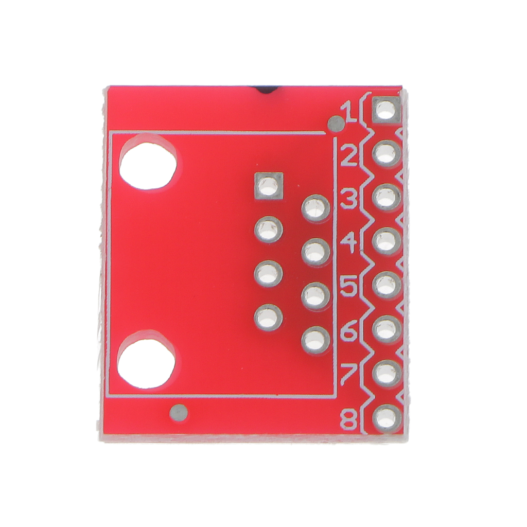 20 Pieces RJ45 Connector (8P8C) and Breakout Board Kit for Ethernet Jacks
