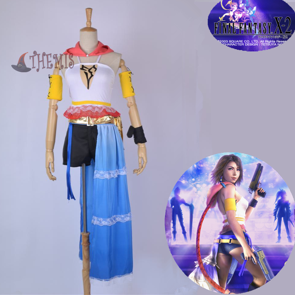 Athemis  Final Fantasy XII Yuna cosplay costume  2 Weapons gun style set custom made sizeОдежда и ак�е��уары<br><br><br>Aliexpress