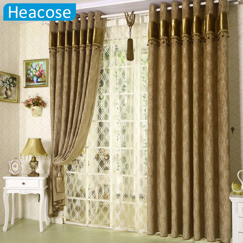 3m chenille jacquard window curtain soundproof thicken for M s living room curtains