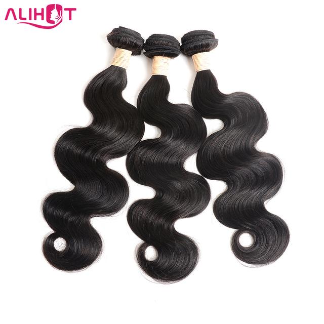 "Peruvian Virgin Hair Body Wave 3 Bundles Unprocessed Virgin Peruvian Body Wave Hair 8''-30"" Grade 8A Peruvian Human Hair Bundles"