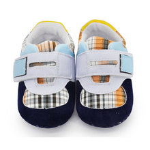 Infant Baby Fashion Seankers Children Boys Girls Ankle Magic Sticker Canvas Slip on Crib Shoes Toddler Kids Casual Accessoires(China (Mainland))