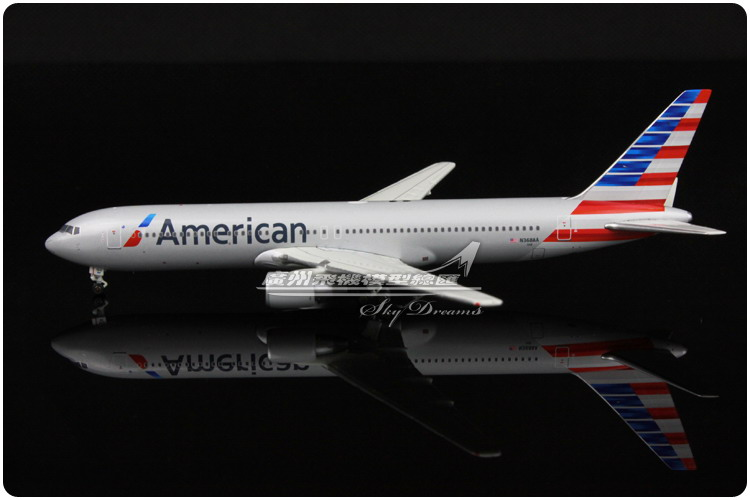 13.7cm 1:400 Alloy Geminijets GJAAL1288 Air American Airlines Boeing B767 300 N368AA Airways Plane Model Airplane Model Toy(China (Mainland))