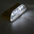 NFLC Auto PIR Door Keyhole Motion Sensor Detector 4LED Light Lamp Golden