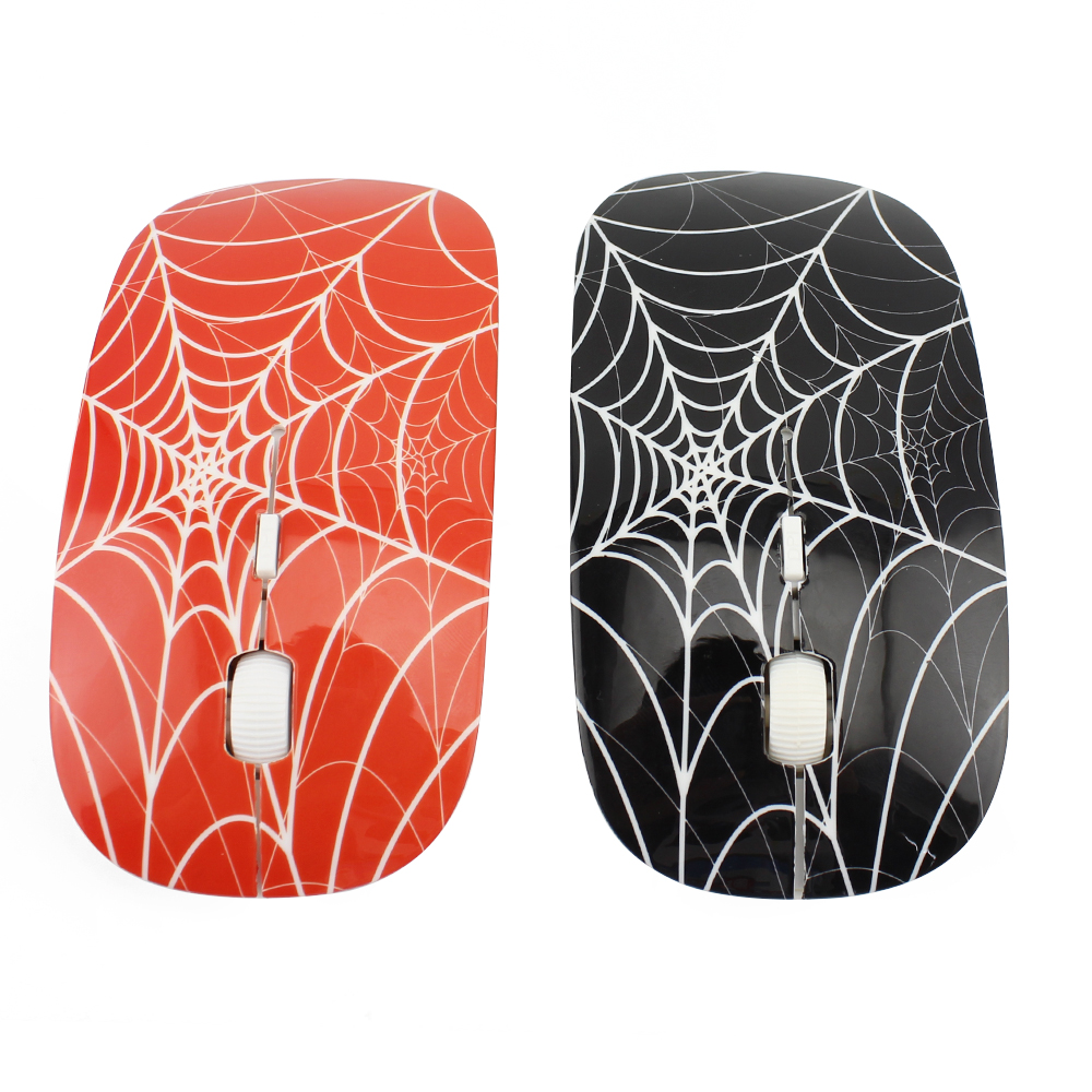2016 New Arrival Spider Web 4D LED Optical USB Wireless Spiderman Mouse Game Mice Computer Gaming Mause For Pro Gamer(China (Mainland))