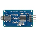 MP3 module Music Player module with Headphone Output Speaker MicroSD Card UART Control MP3 Sound Speaker