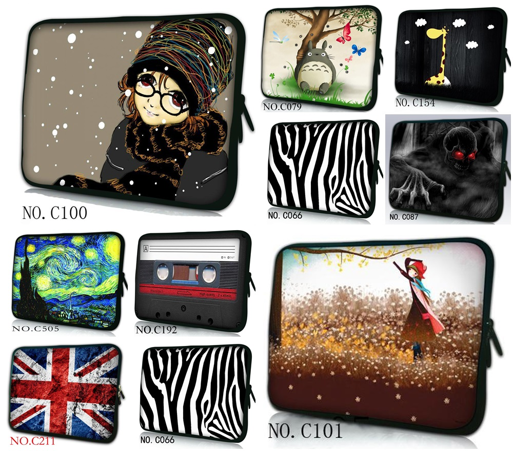 10 13 13.3 14 15 15.6 17 17.3 Inch Laptop sleeve Notebook Bag Case Handle Sleeve Bag Laptop Bag for ipad macbook #20(China (Mainland))