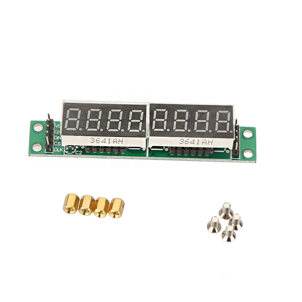 High Quality 7 Segment LED Display Module 5V MAX7219 Red 8 Bit Digital Tube For Arduino MCU(China (Mainland))