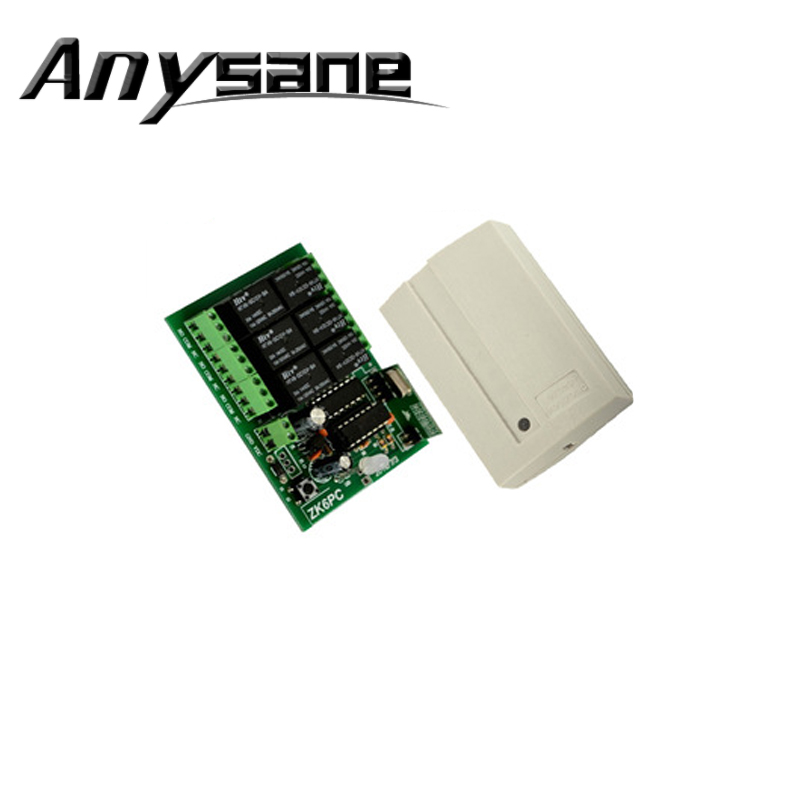 Anysane universal 6CH RF 433MHz12V/24V Home Appliance Wireless Remote Control,Receiver for automatic shutter doors transmitters(China (Mainland))