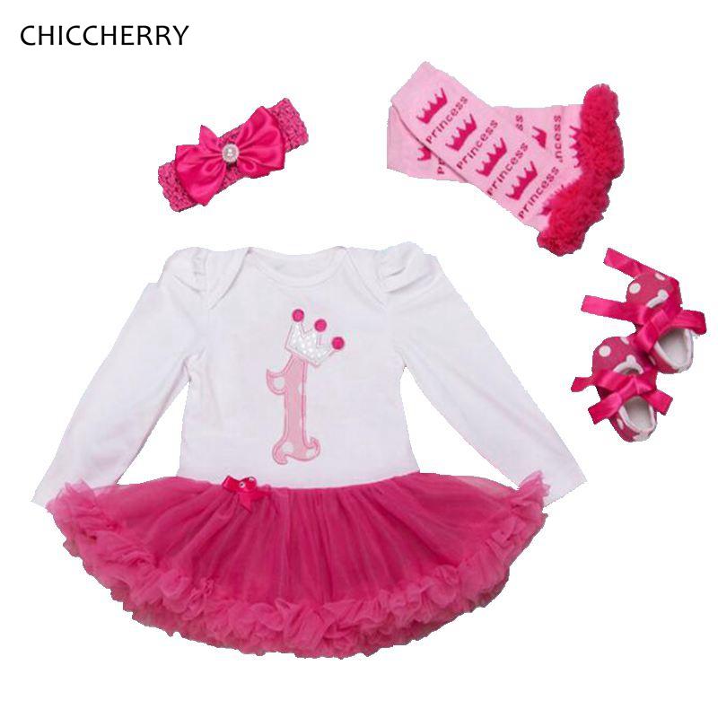 Одежда с длинными рукавами для маленьких девочек на первый день рождения детское aeProduct.getSubject()