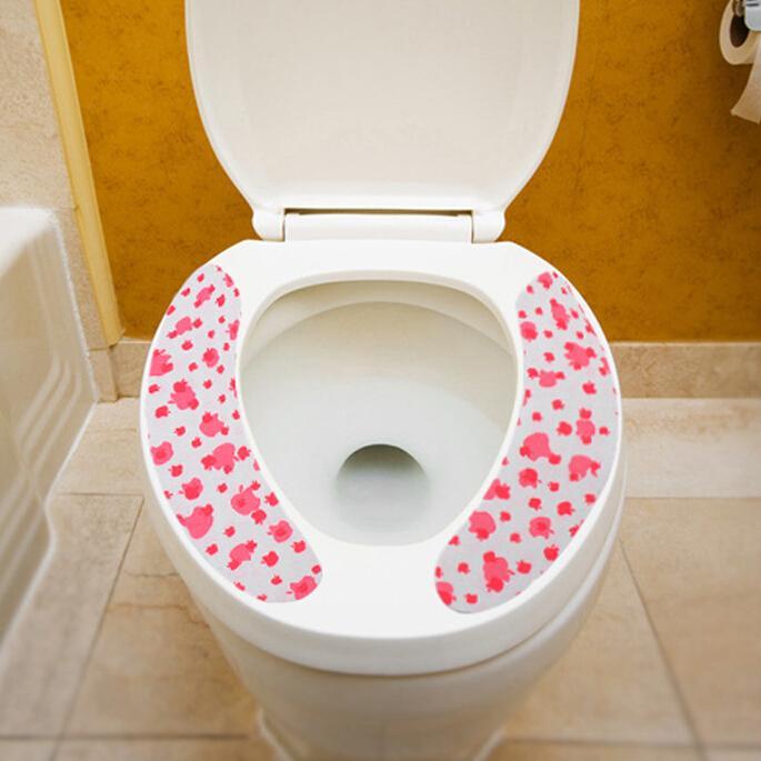 Bathroom toilet seats