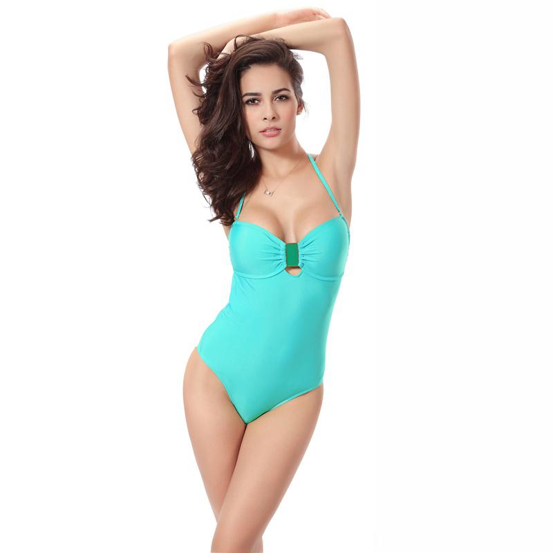 Sexy Bikini 2016 New Fashion Sexy Swimwear Women Bandage Swimsuit One Piece Swimming Bathing Suit Bodysuit Plus Size Wholesale(China (Mainland))
