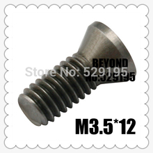 50pcs M3.5*12mm Insert Torx Screw for Replaces Carbide Inserts CNC Lathe Tool