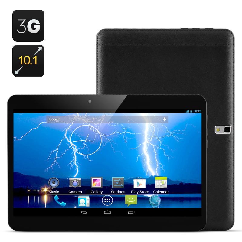 "10 ""10.1 Inch Cell phone Android Tablet 'Storm' - Android 4.2, Dual Core 1.3Ghz, 1024x600 3G Sim card, 8GB ROM SIM Card(Black)(China (Mainland))"