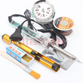 2016 High Quality Newest 60W 220V EU Electric Adjustable Temperature Welding Solder Soldering Iron Welding Tool