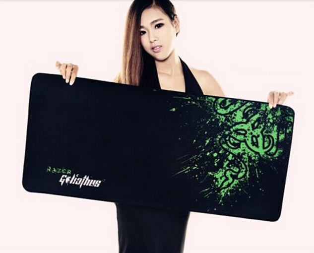 Razer gaming mouse pad XL 700*300*3mm locking edge mouse mat Control version Mantis DOTA2 starcraft league of legend Tasteless(China (Mainland))