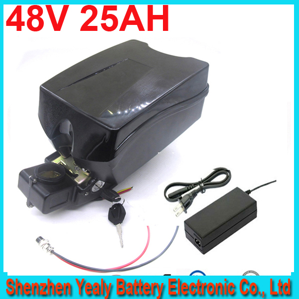ebike 48v battery electric bike battery 48V 25Ah,for bafang/8fun 1000w motor with F rog Case  For Samsung 26F cell<br><br>Aliexpress