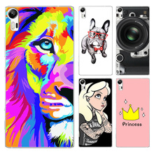 FOR Lenovo Vibe Shot Case Cover Colored Painting Back Protective FOR Lenovo Vibe Shot Z90 Z90-7 Phone Case FOR Lenovo Vibe Shot