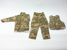 Venta caliente BBI 1 : 6 ee.uu. las fuerzas especiales de camuflaje ropa soldado ropa de guerra afgana ee.uu. militar camuflaje
