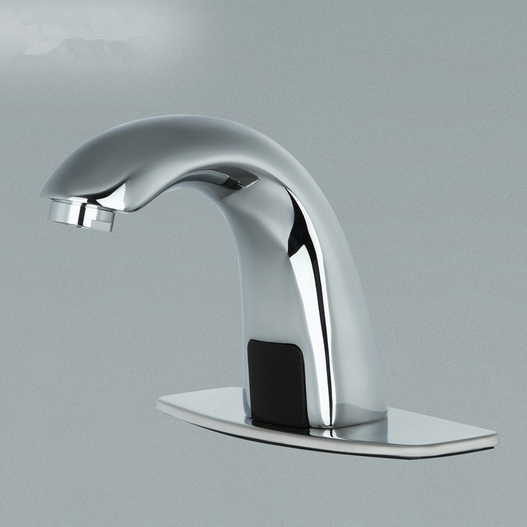 Automatic Electronic Hands Free Bathroom Faucet Basin Cold Water Touchless Mixer Infrared Basin Sensor Water Faucet Dona4201(China (Mainland))