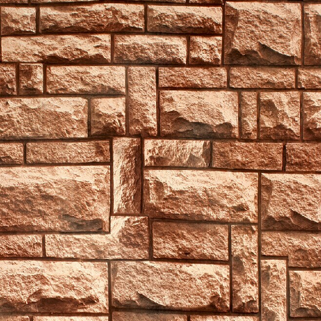3d stone brick wall paper roll background pvc waterproof
