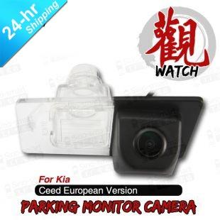 High Quality Wireless HD CCD Car Parking Reversing Rearview Camera for Kia Ceed European Version etc. Night Vision Waterproof(Hong Kong)