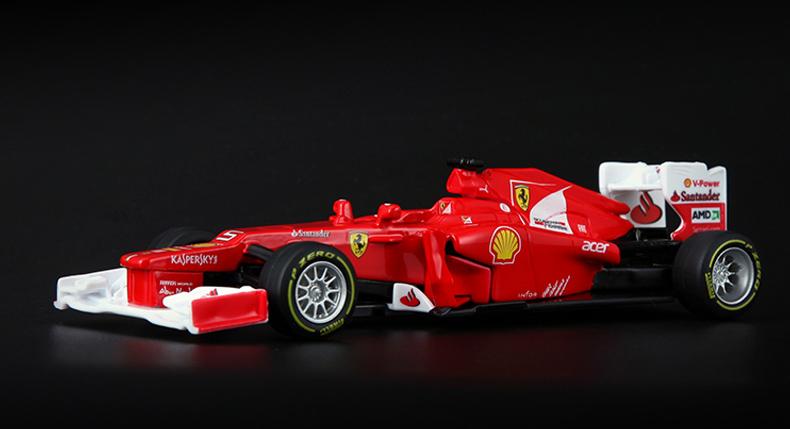 Bburago1: 32 Formula One racing model 12 # 5 alloy car models(China (Mainland))