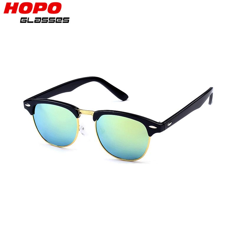 2016 womens sunglasses fashion design mirror retro rayed