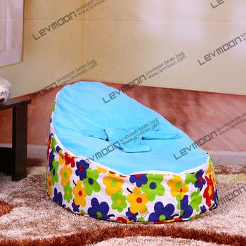 baby bean bag chair no filler with 2pcs up cover baby bean bag chair baby bean bag cover baby bean bags FREE SHIPPING(China (Mainland))