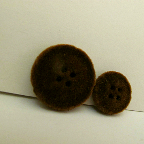 Diy handmade decoration accessories suit overcoat button sew-on button velvet cloth buckle(China (Mainland))