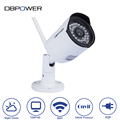 DBPOWER H 264 720P Waterproof Outdoor Security Wifi Camera Bullet IP Cameras with Night Vision Motion